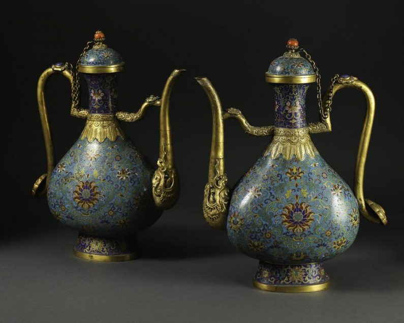 Chinese Cloisonné — Peralatan Enamel Kuno yang Indah